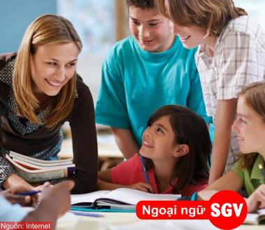 Ngoại ngữ SGV, Cấu trúc When và While trong tiếng Anh