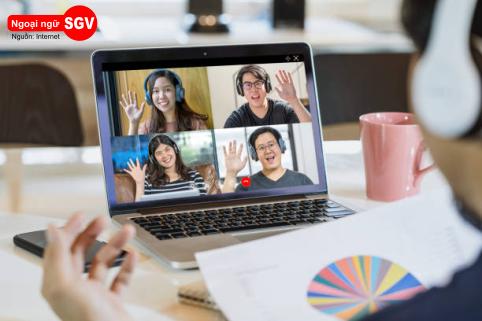 Dạy tiếng Hoa online cho người Việt ở nước ngoài, SGV
