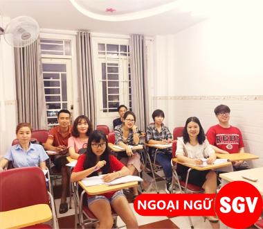 SGV, Dạy tiếng Việt cho người Trung Quốc Quận 7