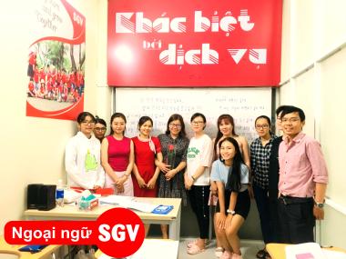 SGV, Địa điểm dạy tiếng Hàn XKLĐ tại quận Tân Bình, HCM