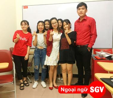 SGV, Địa điểm học tiếng Anh tốt nhất ở quận 4, 6, 7, 9, 12