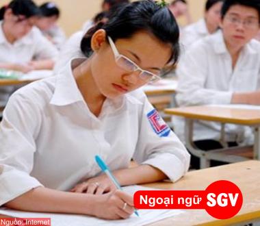 Điều kiện dự thi DELF, SGV