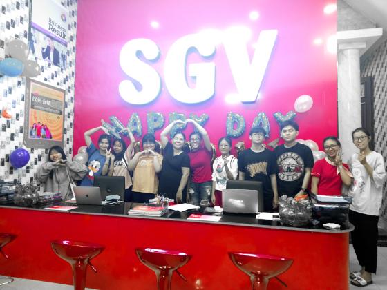 Hoa Ngữ SGV Hóc Môn, sgv