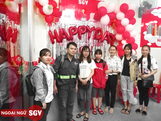 Hoa Ngữ SGV Quận 4, sgv