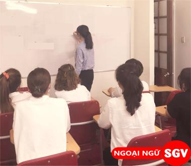 SGV, Học kèm tiếng Đức ở Phú Nhuận