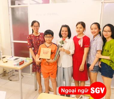 SGV, Học tiếng Hàn cuối tuần, thứ 7, chủ nhật ở Tân Bình