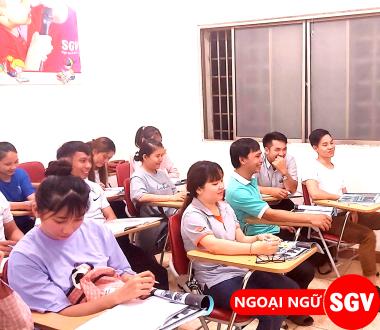 SGV, Khóa học tiếng Nga cho người mới bắt đầu Đà Nẵng