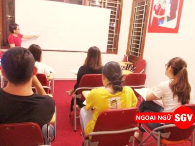 SGV, Khoá học Toeic 450 ở Đà Nẵng