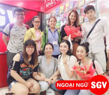 Khoá tiếng Hàn Biên, Phiên dịch tại trung tâm SGV Tân Phú, SGV