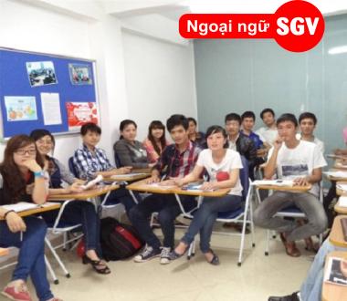 SGV, Khoá tiếng Hàn giao tiếp cấp tốc quận 11