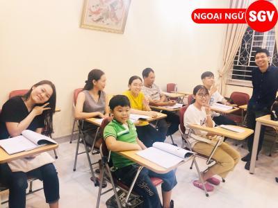 SGV, Khoá tiếng Thái giao tiếp cấp tốc quận Thủ Đức