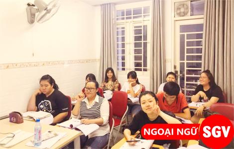 Lớp học tiếng Trung Tân Phú, sgv