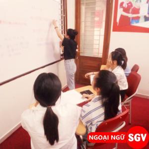 SGV, Lớp tiếng Nhật ban ngày tại SGV Thủ Đức