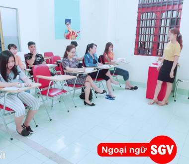 lớp tiếng Trung ban ngày tại quận 7, hcm, SGV
