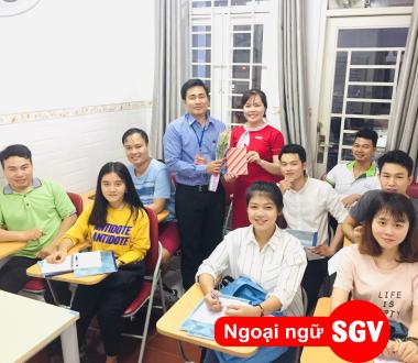SGV, Lớp tiếng Trung cho người mới học ở Lái Thiêu, Thuận An, Bình Dương