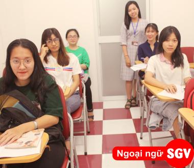 SGV, Luyện thi HSK 5 cấp tốc Quận 7