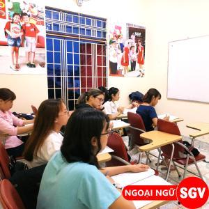 SGV,Luyện thi tiếng Anh vào trường phổ thông Gia Định
