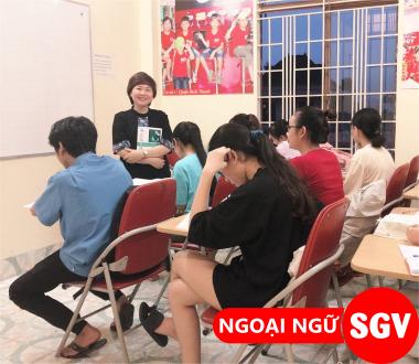 Luyện Toeic, Toefl iBT, IELTS cấp tốc tại SGV Phú Nhuận