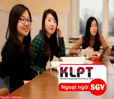 SGV, Mục đích KLPT