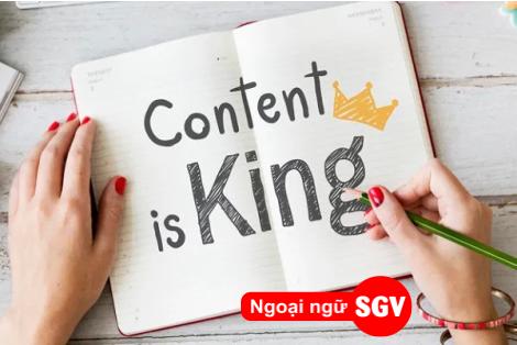 Người viết content gọi là gì,sgv