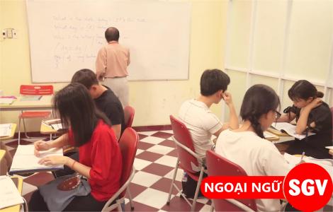 SGV, nơi dạy tiếng Anh tốt nhất quận 7
