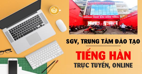 SGV, Trung tâm đào tạo tiếng Hàn trực tuyến, online
