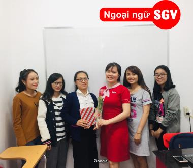 Sài Gòn Vina, trung tâm dạy tiếng Hàn tốt nhất quận 11