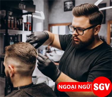 Tiệm cắt tóc tiếng Anh là gì