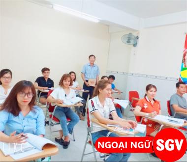 Tiếng Anh cho nhân viên văn phòng quận Phú Nhuận,ngoại ngữ sgv