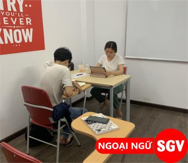 Tiếng Trung cho người đi làm quận Phú Nhuận, SGV.