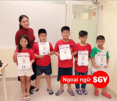 SGV, Trẻ nên học tiếng Anh hè ở đâu tốt Thủ Dầu Một