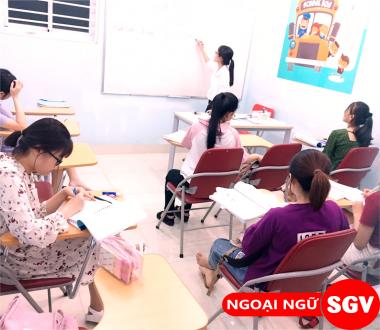 SGV, Trung tâm dạy tiếng Việt cho người Nhật quận Thủ Đức