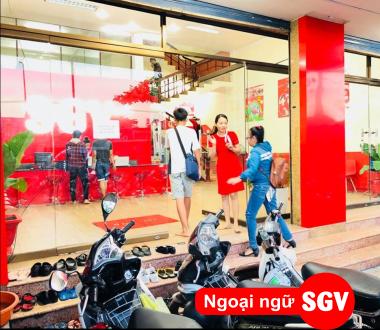 SGV, Trung tâm SGV dạy tiếng Anh hè cho học sinh ở Tân Bình