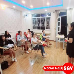 SGV, Trung tâm SGV luyện Toeic 450, 550, 650 quận Tân Bình