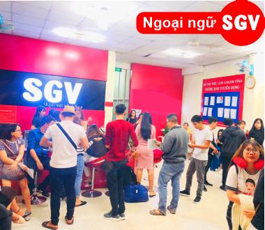 SGV, trung tâm tiếng anh sgv