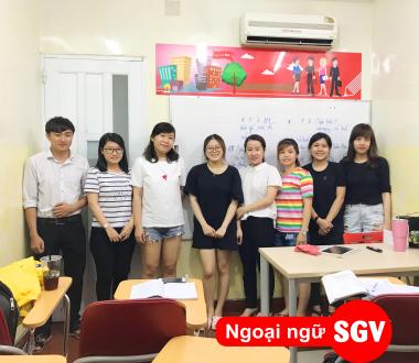SGV, trung tam tieng trung o quan 2