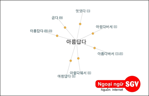 Từ đồng nghĩa trong tiếng Hàn là gì, sgv